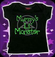 Mommy´s Monster Svart