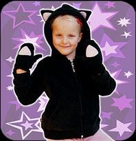 Beby Luvtröja-Kid Kitty