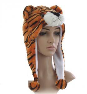 Fleece mössa - Tiger