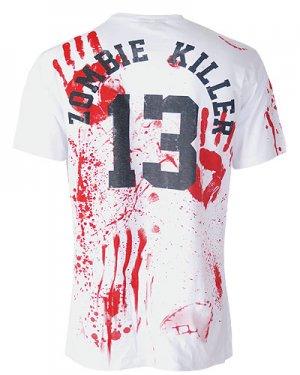 Darkside-Zombie Killer 13 White T-Shirt