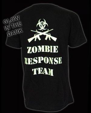 Darkside-Glow In The Dark Green Zombie Response T-Shirt