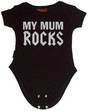 Mum Rocks Svart