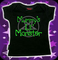 Mommy´s Monster Svart