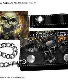 Avenged Sevenfolds Wallet-Disfigure