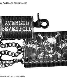 Avenged Sevenfold Wallet-wings