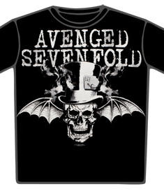 Avenged Sevenfold T-shirt-Top Hat