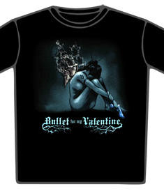 Bullet For My Valentine-T-shirt-Burning Wings