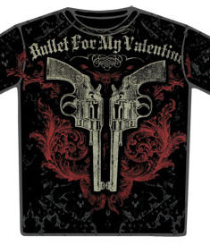 Bullet For My valentine-T-Shirt-Pistol Duel