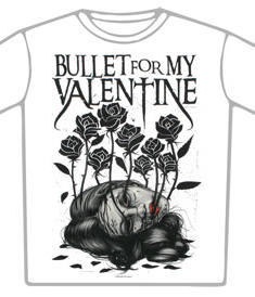 Bullet For My Valentine-t-shirt-Dead Garden