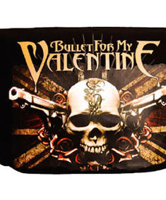 Bullet For My Valentine-Bag-Flag Loggo