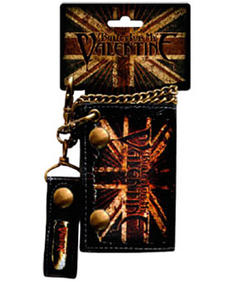 Bullet For My Valentine-Wallet-Flag loggo
