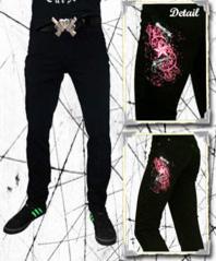 Guns'n'Stars Jeans Svartrosa - M4