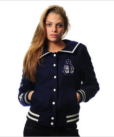 Criminal Damage Jacket - Army Sailor (Navy)