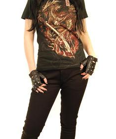 Alchemy-Samurai Dragon Girlie T-shirt