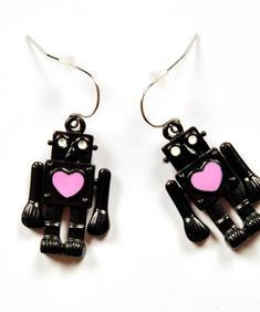 Robotlove - örhängen