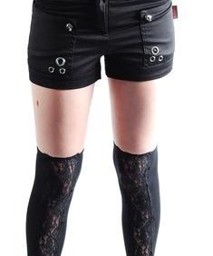 Shorts-Svarta-Lds
