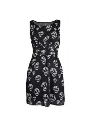 Evil clothing skull klänning 9149