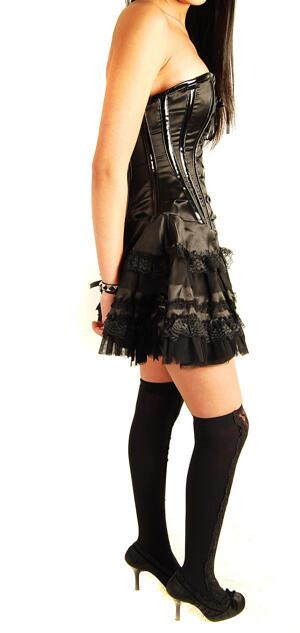 Burleska-Corset Dress-Black