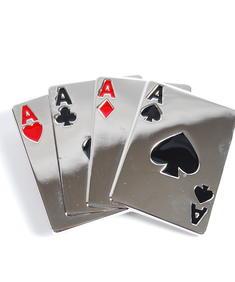 Bältespänne-Cards Poker