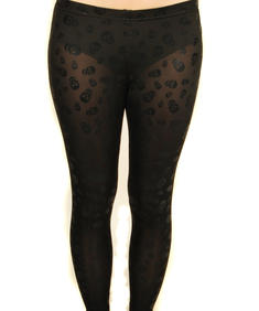 Living Dead Souls - Skull leggings