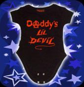Sparkdräkt-Dadys Lil Devil