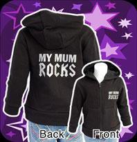 Beby Luvtröja-Mum Rocks
