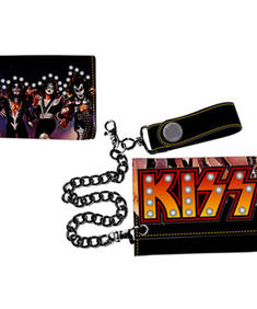 KISS - Trifold W/ Logo, Picture & Studs