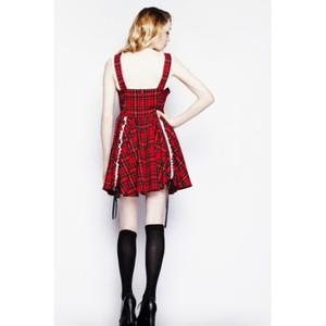 Hell bunny dress/klänning i tartan