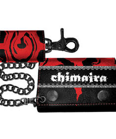 Chimaira- Black/Red Leather Wallet