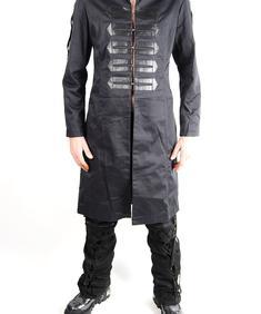 HDLS-Mili coat-Blk