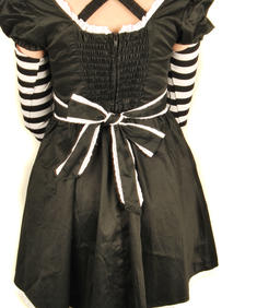Hell Bunny -Randig Dress