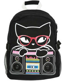 Living Dead Souls-Kitty Radio Backpack