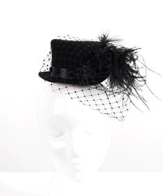 Godie Hat- Feather-VC-Net