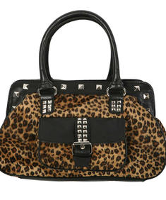 Living Dead Souls-Leopard Bag