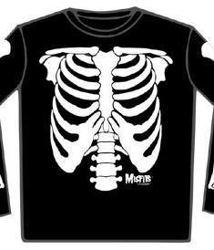 Misfits-Tröja-Skeleton