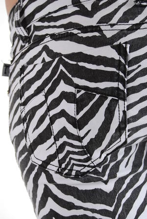 Tripp-Animal Pants Zebra