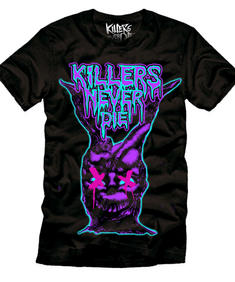 Killers never Die-Darko On purple-T-shirt