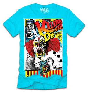 Killers never Die-Crazy Clown-T-shirt
