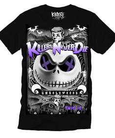 Killers never Die-Nightmare before Christmas-T-shirt