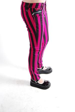 Poizon- Mase Pants Pink Stripes