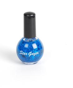 Stargazer-Nagellack-Glitter Blå