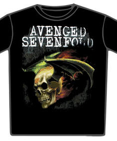 Avenged Sevenfold-Flaming Death Bat