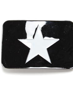Bältespänne-Star N White