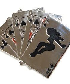 Bältespänne-Poker Cards