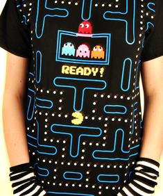 Cool blå t-shirt (labyrint)