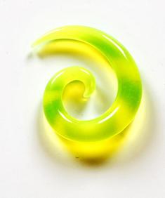 Gul spiral (töjsmycke)