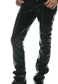 SLIM FIT BUTTON FLY JEANS