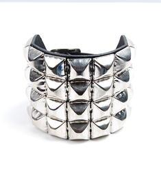4 Row Stud-Armband