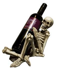 Dödskalle/Skelett Vinhållare