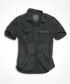 1/2 Raw Vintage Shirt BLACK